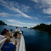 Photo taken at Raja Ampat island by Armanda N. on 5/26/2013