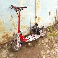 Photo taken at gunslinger's garage by Egor D. on 8/30/2013