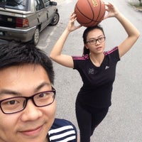 Photo taken at Ss26/10 Basketball Court by Susian K. on 5/14/2015