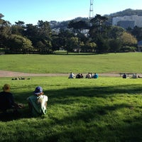 Photo taken at Hippie Hill by Kazuki O. on 2/11/2013