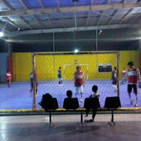 Photo taken at Mayasari Futsal by path a. on 8/14/2013