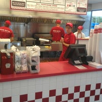Photo taken at Five Guys by Tracy G. on 10/8/2012