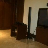 Photo taken at Sheraton Bandara Hotel by Felix M. on 4/25/2013