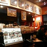 Photo taken at Rockn' Joe Coffeehouse & Bistro by Damien N. on 1/11/2013