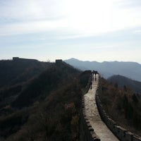 Photo taken at Great Wall at Mutianyu by Elvina L. on 11/20/2012