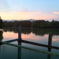 Photo taken at Pulau Tiga by Karthigesu K. on 11/14/2012