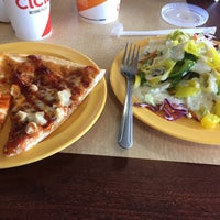 Photo taken at Cicis by Russell B. on 10/31/2017