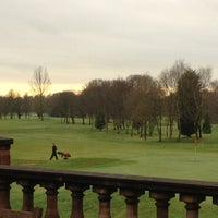 Photo taken at Swinton Park Golf Club by Helen V. on 1/4/2013