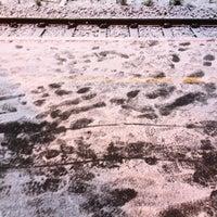 Photo taken at Harestua stasjon by Irene K. on 10/25/2012