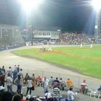 Photo taken at Estadio Kenny Serracín by Carlos S. on 2/28/2014
