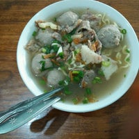Photo taken at Bakso Amat by Dian S. on 3/9/2017