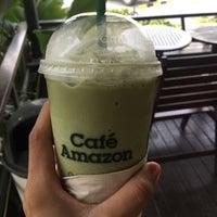 Photo taken at Café Amazon by Preaw N. on 5/21/2017