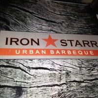 Photo taken at Iron Star Urban BBQ by Lizz H. on 5/18/2013