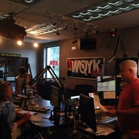 Photo taken at 99.5 WQYK by Lizz H. on 7/10/2014