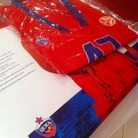 Photo taken at Alexander Gomelsky CSKA USH by 🍺Dmitry P. on 10/19/2012