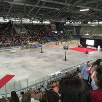 Photo taken at St. Jakob Arena by Steff La Cheffe G. on 6/30/2016