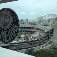 Photo taken at Sociedade Esportiva Palmeiras by Gisele F. on 2/21/2013