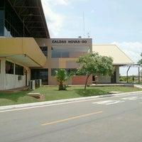 Photo taken at Aeroporto de Caldas Novas (CLV) by André N. on 10/21/2012