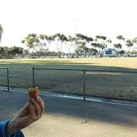 Photo taken at Lara Football Ground by Mark P. on 8/15/2015