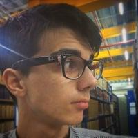 Photo taken at Biblioteca Francisco De Vitoria by Alex R. on 5/19/2016