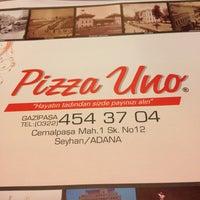 Foto tomada en Pizza Uno por BERNA el 4/27/2013