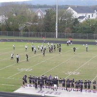Photo taken at Battlefield High School by Dev B. on 10/15/2013