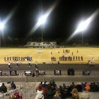 Photo taken at Battlefield High School by Dev B. on 11/4/2013