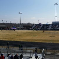 Photo taken at Battlefield High School by Dev B. on 3/21/2015