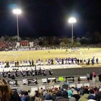 Photo taken at Battlefield High School by Dev B. on 11/8/2014