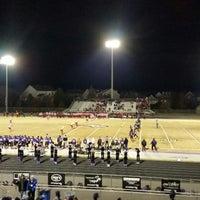 Photo taken at Battlefield High School by Dev B. on 11/15/2014