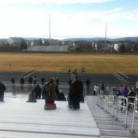 Photo taken at Battlefield High School by Dev B. on 1/14/2014