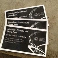 Photo taken at Morrison Planetarium by Crystal S. on 10/13/2012