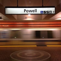 Photo taken at Powell MUNI Metro Station by Chris S. on 6/19/2013
