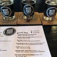 Photo taken at Werk Force Brewing Co. by Ann B. on 8/11/2018