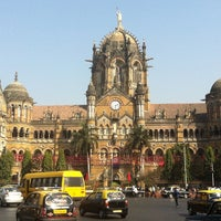 Photo taken at Chhatrapati Shivaji Terminus by Dashа 🐝 F. on 1/22/2013