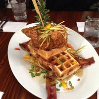 Photo taken at Hash House a Go Go by Edgar G. on 2/10/2013