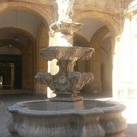Photo taken at Patio de la fuente Rectorado by Ainhoaeus D. on 7/9/2014
