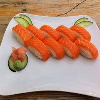 Photo taken at Sushi To Go Turandot by Ben on 9/5/2013