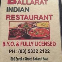 Photo taken at Ballarat Indian Restaurant by Teddy M. on 4/10/2015