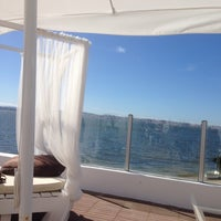 Photo taken at Praia Norte - Restaurante Lounge Bar by Isabel V. on 6/10/2014