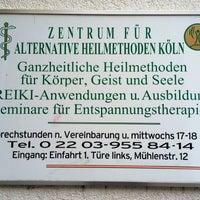 Photo taken at Zentrum für Alternative Heilmethoden Köln by Thorsten S. on 9/5/2014