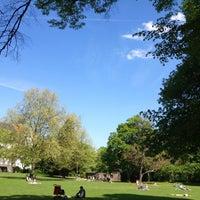 Photo taken at Friedenspark by Thorsten S. on 5/5/2013