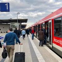 Photo taken at Bahnhof Euskirchen by Thorsten S. on 3/14/2018