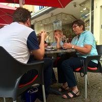 Photo taken at Eiscafé Bonifatius by Thorsten S. on 6/10/2015