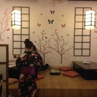 Photo taken at Okiniiri Japanese Restaurant & Izakaya by Clarissa C. on 12/16/2012