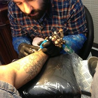 Photo taken at C. Ink Tattoo by Calogero L. on 3/27/2013