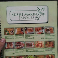 Photo taken at Sushi makin japones by kYcHo ® on 2/24/2013