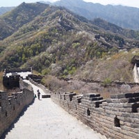 Photo taken at The Great Wall of China - Defense Tower by chicchaimono on 4/14/2017