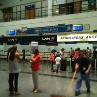 Foto tomada en Aeropuerto Internacional de Mendoza - Gobernador Francisco Gabrielli (El Plumerillo) (MDZ) por Leo V. el 3/10/2013