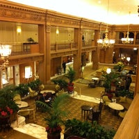 Photo taken at Fairmont Olympic Hotel by David N. on 1/23/2013